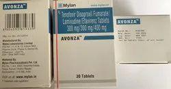 Avonza Tab (Tenofovir Disoproxil Fumarate & Lamivudine & Efavirenz)