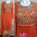 Georgette Party Wear Suits W-499
