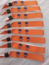 One Time Use Multicolored Printed Satin Wristbands, Size: 12, Packaging Type: Box