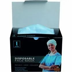 3 Ply Disposable Face Mask for Surgical
