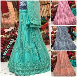 Party Wear Net Heavy Lehenga Choli