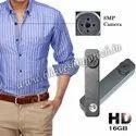 Imported 16gb Inbuilt Spy Button Camera, For Security, Battery Capacity: 2-3 Hours