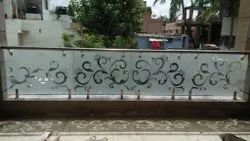 Customized Glass Railing