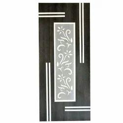 Wood Hinged Modern Wooden Door