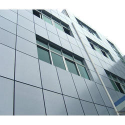 Grey Aluminium Composite Panel