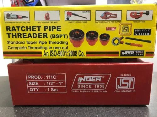 "Ratchet Pipe Threader Size- 1/2 """" To 1"""""