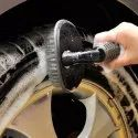 Wheel Tyre Rim Scrub Brush Hub Clean Wash Useful Brush For Car, Truck, Motorcycle, Bike, Wash Brush.