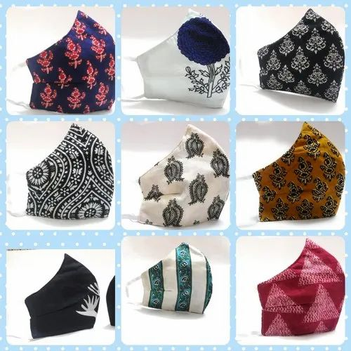 Reusable Printed Cotton Face Mask