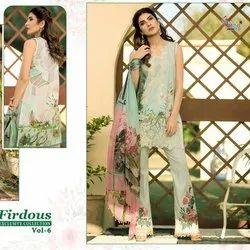 Pakistani Lawn Cotton Suit