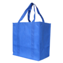 Plain Blue Carry Bag