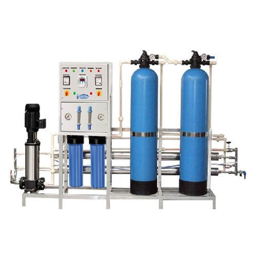 Automatic 1000 LPH FRP RO Plant, Automation Grade: Semi-Automatic