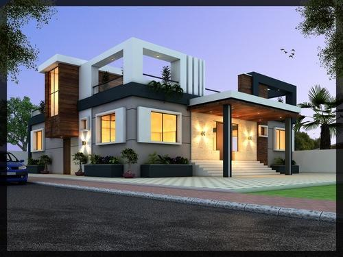 3d Front Elevation Modification In Sector 63 Noida Arch Planest