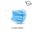 3 Layer Disposable Face Mask