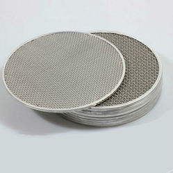 SS Wire Mesh Filter Disc