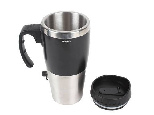 Minura Car Heater Mug 500ml With Car Usb Charger Mgh97
