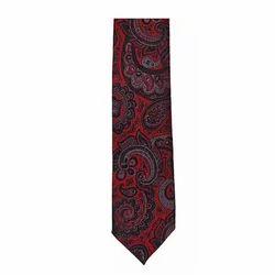 Printed Satin Tie Fabric