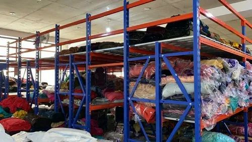 Mezzanine racking systems