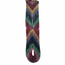 Dhanshree Export Oval Rainbow Stone Beads
