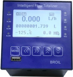 Intelligent Flow Rate Totalizers With data recording and USB interface
