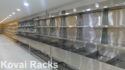 Wall Side Stainless Steel Vegetable Rack