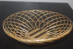 Round Basket Cane Look Small, Size/Dimension: 10