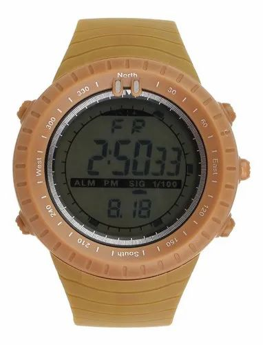 Casual Yellow Colour Digital Watch For Boys & Girls