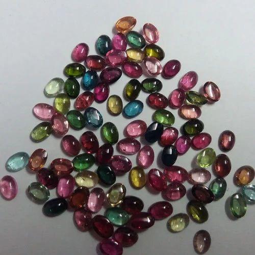 c9d7594f7db5e Multicolor Tourmaline Cabochon Stone