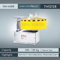 Heavy Duty Pan Mixer Twister