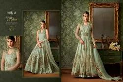 Latetst Embroidered Stylish Anarkali Suit