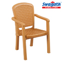 Weave Amber Gold Chair