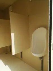 Urinals Cabin