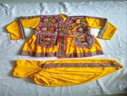Navratri Special Kutch Embroidered Kediya - Garba Costume - 16 Size - 1 Year