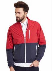Monte Carlo Red Blue Full Sleeve Hooded Jacket