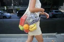 Cotton Mesh Bags For Fruits And Vegetable Organic