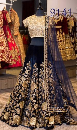 5 beautiful styles of velvet lehenga that will be perfect for this wedding season