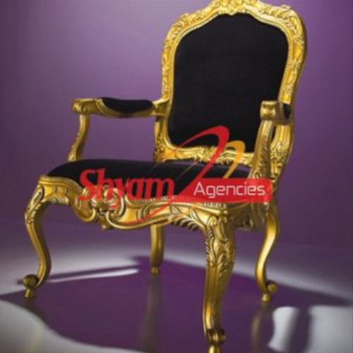 Gold Plated Wedding Chair