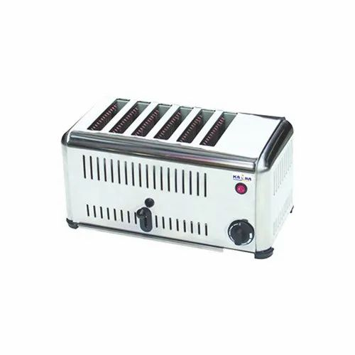 6 ATS 3240 PRIDEBAKE Stainless Pop Up Toaster, Toasting, for Commercial
