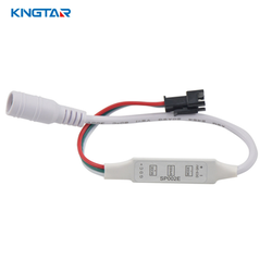 watch 31bb3 10afd SP002E USB 3Key LED Dimmer Controller(Pixel Controller) for WS2812 WS2812B  RGB LED Strip Light