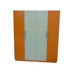 Four Door Wooden Wardrobe, For Home