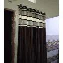Printed Fancy Designer Brown Curtain