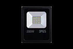 Dia Cast Aluminum Body Pure White Orient Flood Light 200 Watt, For Outdoor, IP Rating: IP 65