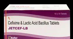 Cefixime Lactobacillus Spores Tablet (Jetcef - LB)