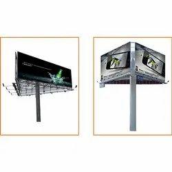 Rotating Billboard Hoarding