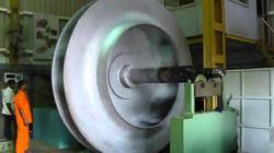 Blower impeller static and dynamic balance