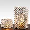 Designer Crystal T Light Candle Holder