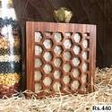 Beautiful Wooden Box Clutch