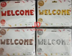 Party Foil Balloon (Welcome)