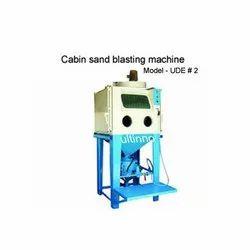 UDE 2 Cabin Sandblasting Machine