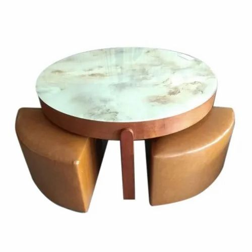 Modern Round Coffee Table For Restaurant Rs 1500 Square Feet A K Steel Furniture Id 21320336297