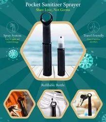 Hook Sanitizer Sprayer Bottle 20ml